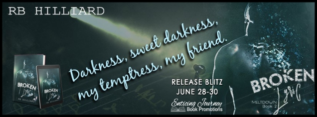 Broken Lyric Release Banner