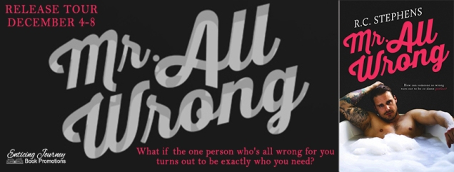 Mr. All Wrong Banner
