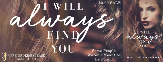 I will always find you banner