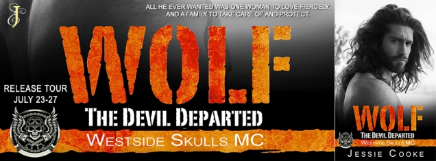 Wolf The Devil Departed Banner