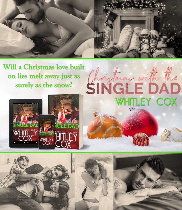 Christmas with the single dad promo collage