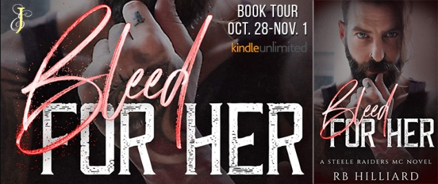 Bleed for her tour banner
