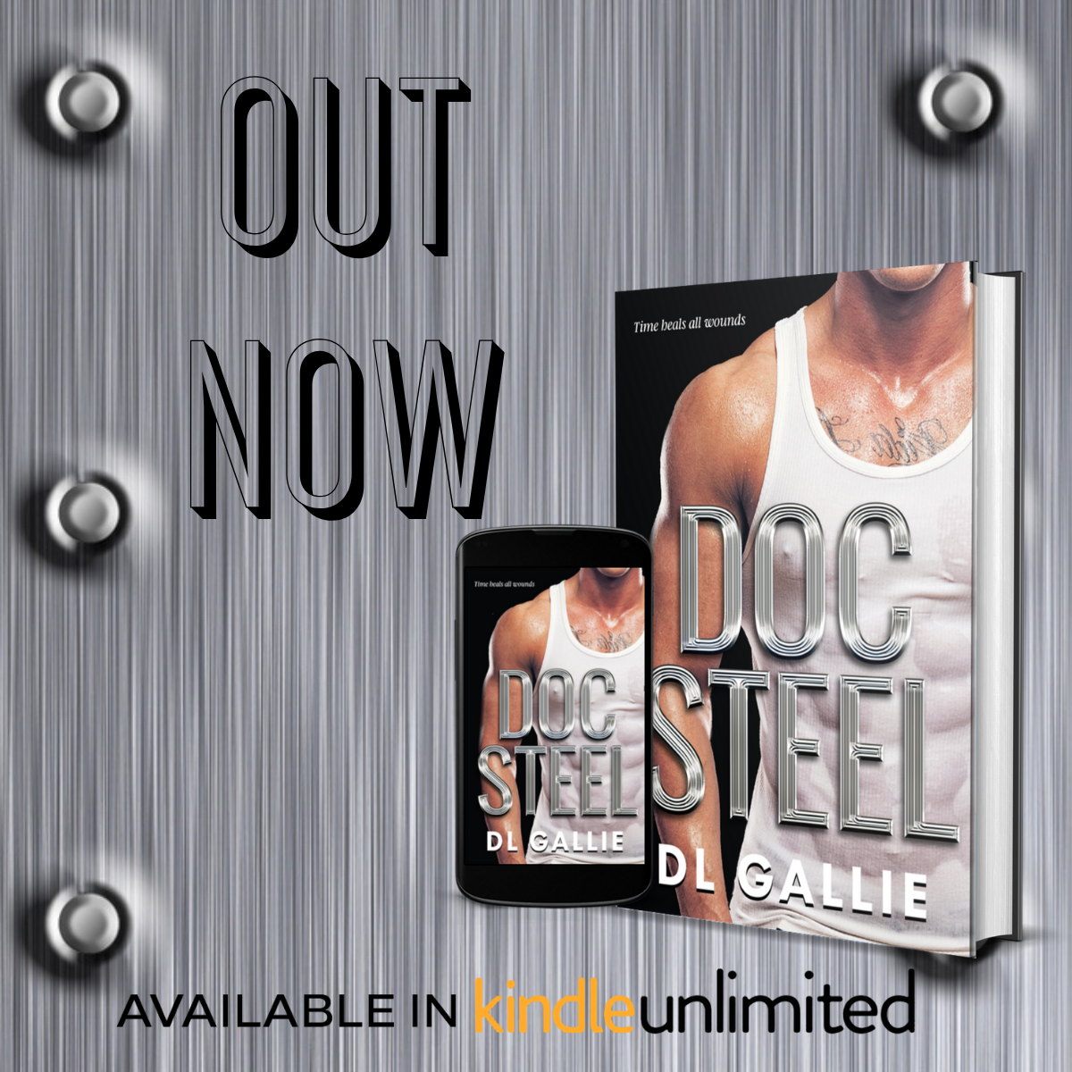 Doc Steel out now.2